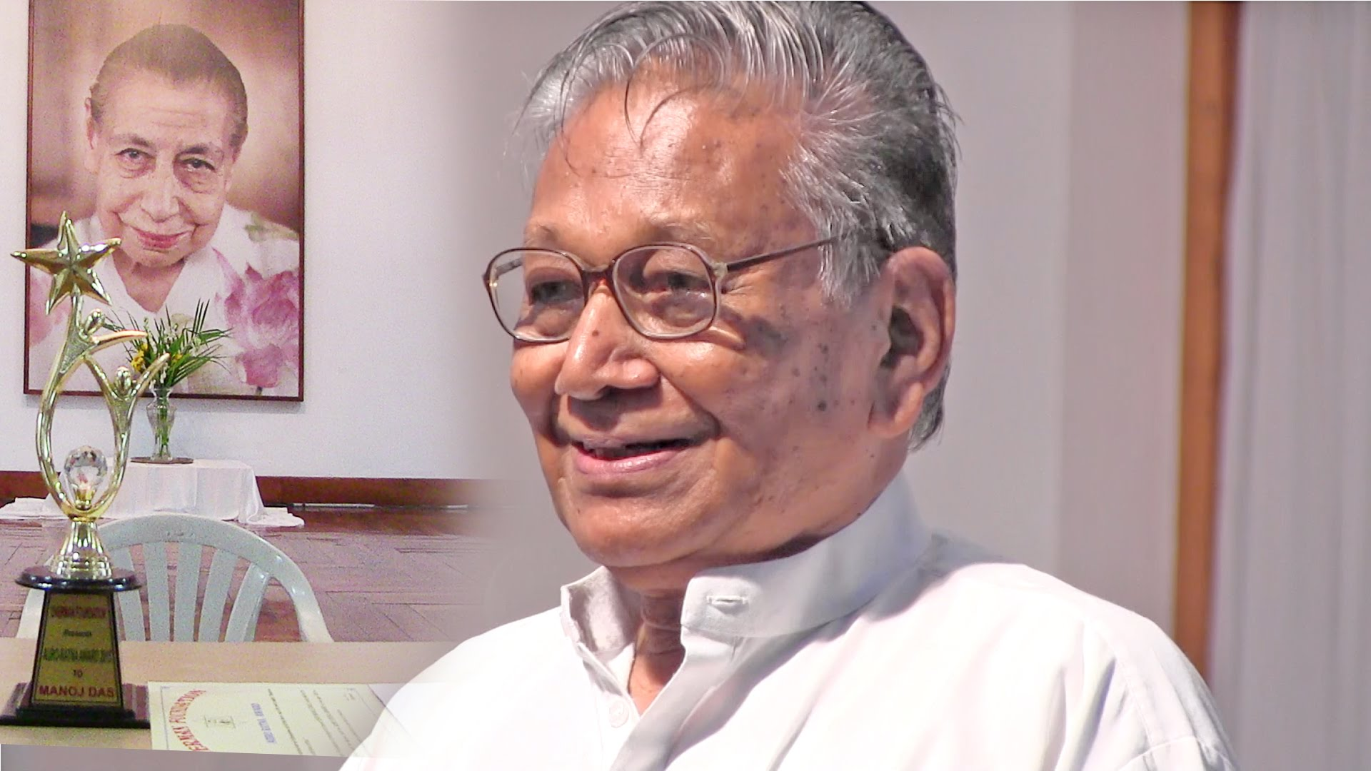 """Auro-Ratna Award"" to Prof. Manoj Das"