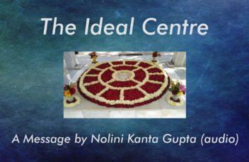 TP 24 The Ideal Centre - Nolini Kanta Gupta cover