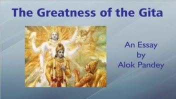 The Greatness of the Gita - AP essay