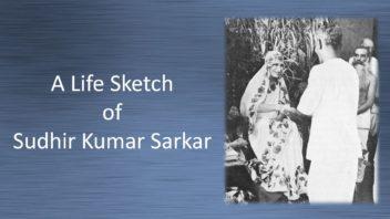 Sudhir K Sarkar cover