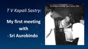 Kapali - My First Meeting