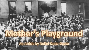 MOthers playground with title