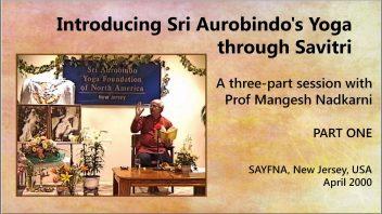 's Yoga through Savitri Part 1 cover mm