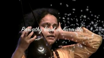 Parvati Baul in Auroville (2011) part 1