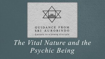 17. The Vital Nature and the Psychic Being