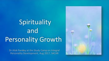 Spirituality and Personality Growth