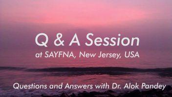 Q&A at SAYFNA