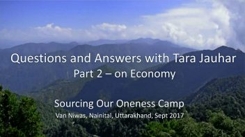 Q&A with Tara didi part 2 on Economy lg