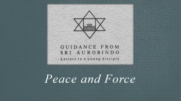 28. Peace and Force