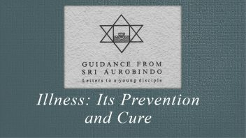 37. Illness; Its Prevention and Cure