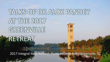 Talks aqt the 2017 Greenville Retreat