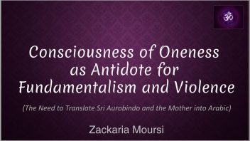 Consciousness of Oneness
