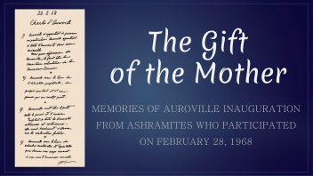 The Gift of the Mother - memories of AV inauguration
