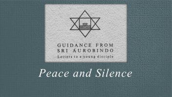 38. Peace and Silence