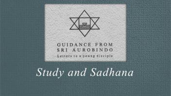 54. Study and Sadhana