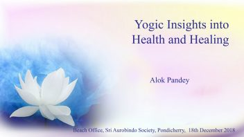 Yogic Insights into Health and Healing Poster 1080
