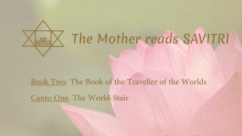 The Mother Reads Savitri cover B02C01 AM