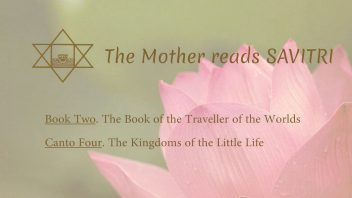 The Mother Reads Savitri cover B02C04 AM