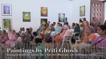 2019 02 Paintings by Priti Ghosh at SB