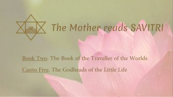 The Mother Reads Savitri cover B02C05 AM