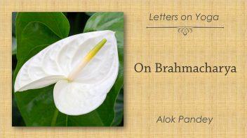 On Brahmacharya 1