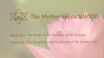 The Mother Reads Savitri cover B02C06 AM