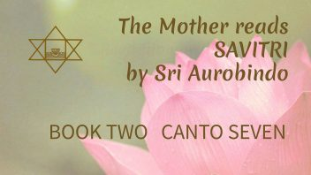 The Mother Reads Savitri cover B02C07 1080