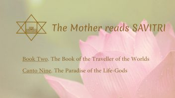 The Mother Reads Savitri cover B02C09 AM