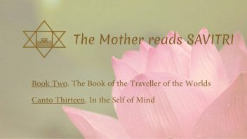 The Mother Reads Savitri cover B02C13 AM