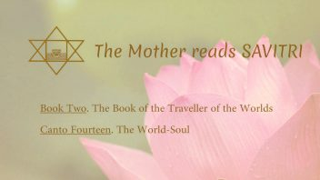 The Mother Reads Savitri cover B02C14 AM