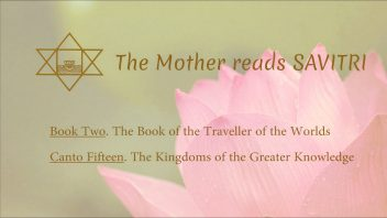 The Mother Reads Savitri cover B02C15 AM