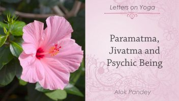 Letters on Yoga - Paramatma, Jivatma and Psychic Being 1080