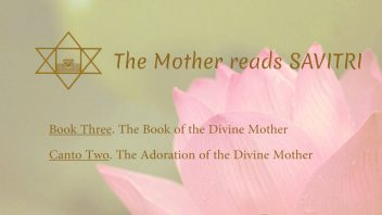 The Mother Reads Savitri cover B03C02 AM