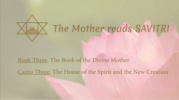 The Mother Reads Savitri cover B03C03 AM