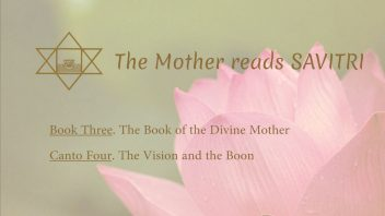 The Mother Reads Savitri cover B03C04 AM