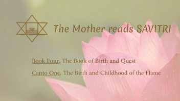 The Mother Reads Savitri cover B04C01 AM