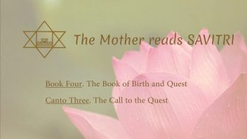 The Mother Reads Savitri cover B04C03 AM
