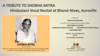 A tribute to Shobha Mitra in AV grey NN