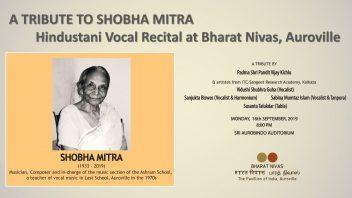 A tribute to Shobha Mitra in AV grey NN