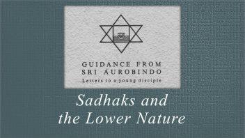 29 Sadhaks and the Lower Nature