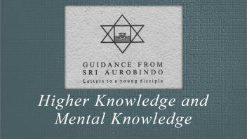39 Higher Knowledge and Mental Knowledge