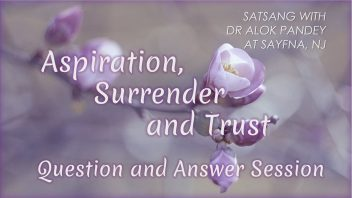 Aspiration Surrender and Trust