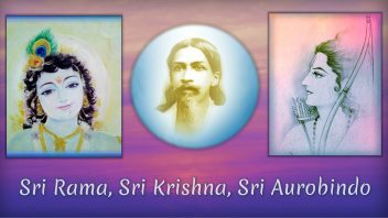 Sri Rama, Sri Krishna Sri Aurobindo cover