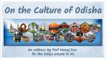 On the Culture of Odisha