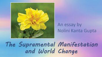 The Supramental Manifestation - Nolini da cover