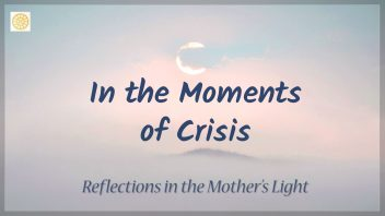 In the moments of crisis