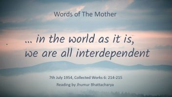 LR29 in the world as it is, we are all interdependent - Jhumur di