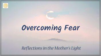 Overcomiong Fear