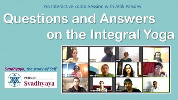 TE 289 Q&A on the Integral Yoga cover mod