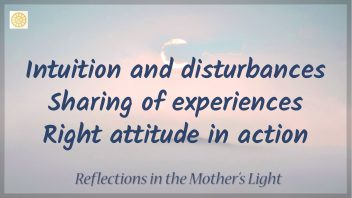 Intuition and Disturbances